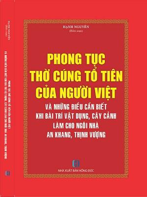 Cuốn sách phong tục thờ cúng tổ tiên của người Việt