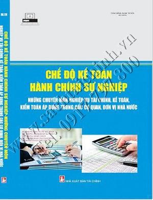 Chế độ kế toán hành chính sự nghiệp 2016- những chuyên môn nghiệp vụ tài chính, kế toán, kiểm toán áp dụng trong các đơn vị nhà nước