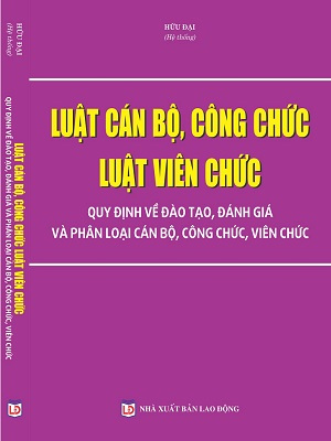Sách Luật Cán Bộ Công Chức Luật Viên Chức