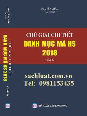 Sách Chú Giải Chi Tiết Mã Hàng Hóa HS
