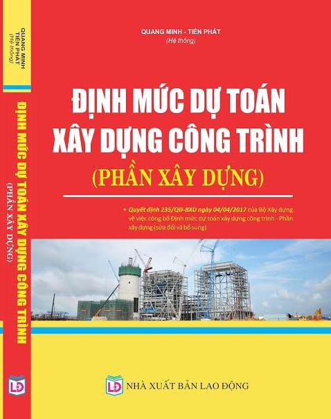 sách định mức dự toán xây dựng công trình 2017