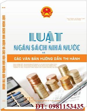 Sách luật ngân sách nhà nước và các văn bản hướng dẫn thi hành