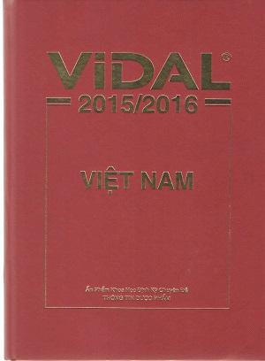 Sách Vidal Việt Nam 2016