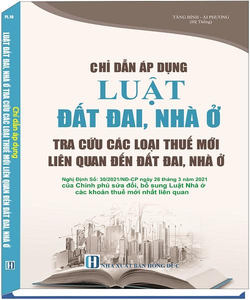 Chỉ Dẫn Áp Dụng Luật Đất Đai, Nhà Ở Tra Cứu Các Loại Thuế Mới Liên Quan Đến Đất Đai, Nhà Ở