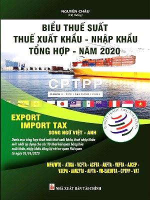 Sách Biểu Thuế XNK 2020 Song Ngữ Việt - Anh (NXB Tài Chính)