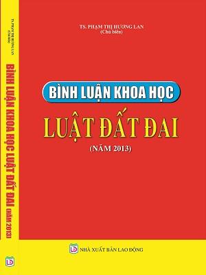 Sách Bình Luận Khoa Học Luật Đất Đai Năm 2013