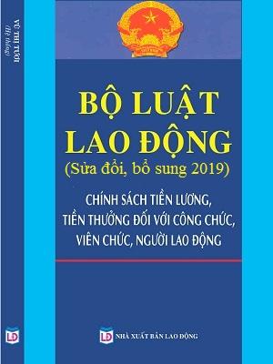Sách Bộ Luật Lao Động Sửa Đổi Năm 2019