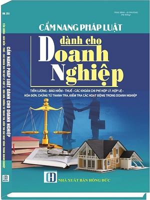 Sách Cẩm Nang Pháp Luật Dành Cho Doanh Nghiệp