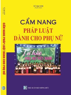 Sách Cẩm Nang Pháp Luật Dành Cho Phụ Nữ