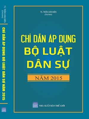 Sách Chỉ Dẫn Áp Dụng Bộ Dân Sự Năm 2015