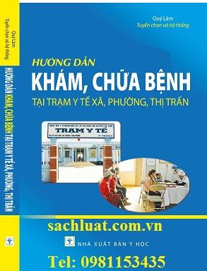 Sách hướng dẫn khám chữa bệnh tại trạm y tế xã phường thị trấn