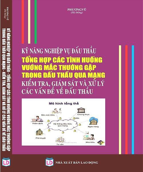 Sách Kỹ Năng Nghiệp Vụ Đấu Thầu Tổng Hợp Các Tình Huống Vướng Mắc Thường Gặp Trong Đấu Thầu Qua Mạng