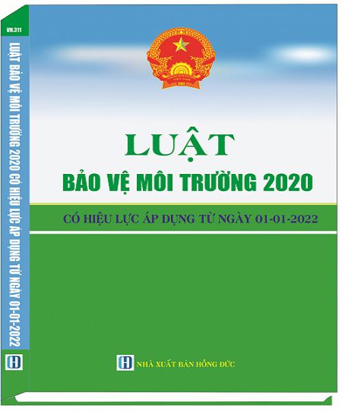 Sách Luật Bảo Vệ Môi Trường Năm 2020