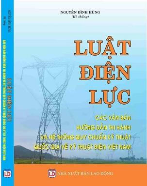 sách luật điện lực và các văn bản hướng dẫn thi hành mới nhất