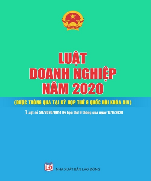 Sách Luật Doanh Nghiệp Năm 2020
