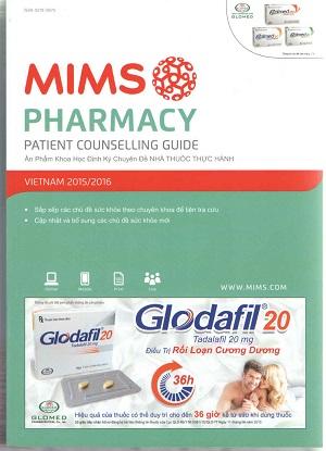 Sách Mims pharmacy 2016, cẩm nang nhà thuốc thực hành 2016