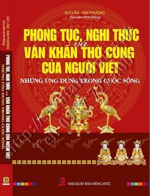 Sách phong tục nghi thức và văn khấn thờ cúng của người Việt