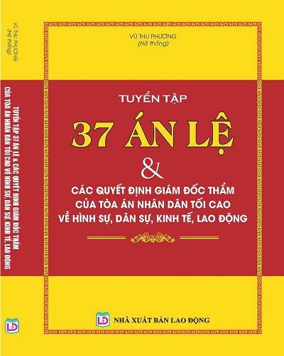 Sách Tuyển Tập 37 Án Lệ