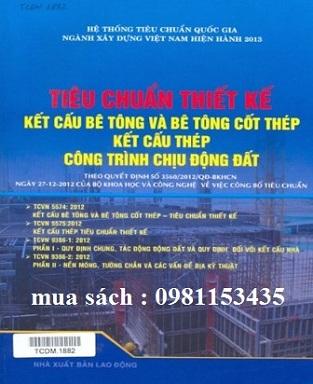 sách tiêu chuẩn thiết kế Kết cấu bê tông và bê tông cốt thép, kết cấu thép công trình chịu động đất